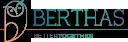 Logo visual do site Berthas
